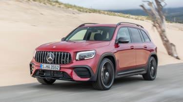 Mercedes-AMG GLB 35 - front sand