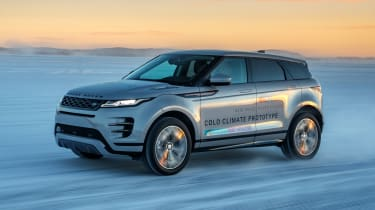 Range Rover Evoque prototype - front action