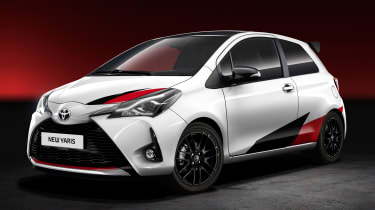 Toyota Yaris official hot hatch 2017 - front quarter
