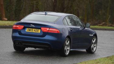 Jaguar XE Long term test - rear cornering