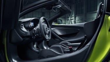 McLaren 600LT Spider - cabin