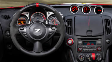 Nissan 370Z 50th Anniversary Edition - steering wheel