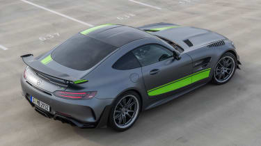 Mercedes-AMG GT R Pro - rear above