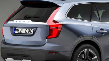 Volvo XC90 2015 rear detail