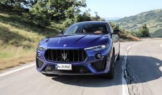 Maserati Levante Trofeo front tracking