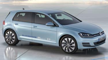 Volkswagen Golf BlueMotion concept side