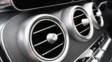 Mercedes C-Class - air vents