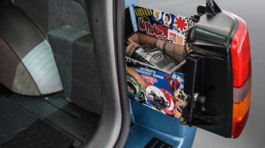 Jeep's wildest concepts driven - Grand One secret compartment