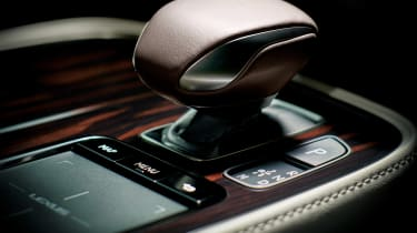 Lexus LS review - controls