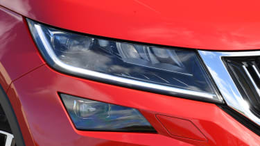 skoda kodiaq l&k headlight