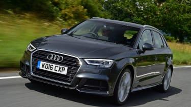 Audi A3 Sportback 2.0 TDI - front action