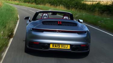 Porsche 911 Cabriolet - full rear