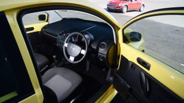 VW Beetle - modern classic interior