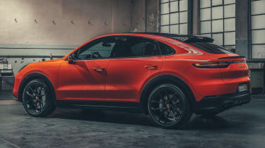 Porsche Cayenne Coupe - rear 3/4 static