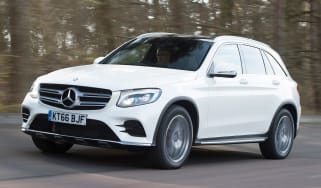 Mercedes GLC 350d 2017 - front tracking