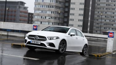 Mercedes A 200 AMG Line long termer - final report front action
