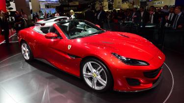 Ferrari Portofino - Frankfurt show front