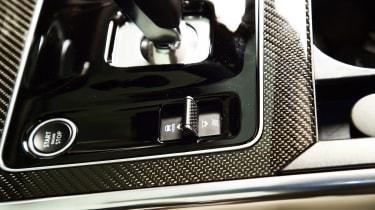 Jaguar XE - start/stop button