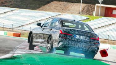 BMW M340i xDrive prototype - rear track