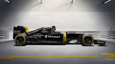 RenaultSport F1 2016 RE16 side profile