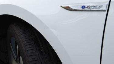 Volkswagen e-Golf front wing