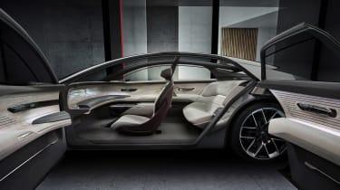 Audi Grandsphere concept - doors open