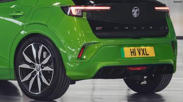 Vauxhall Mokka VXR - rear detail (watermarked)