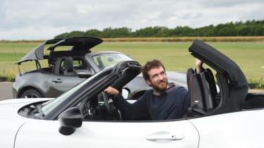 Mazda MX-5 RF long-term test - roof