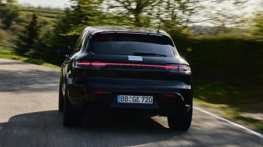 Porsche Macan prototype - rear cornering