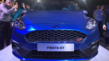 Ford Fiesta ST show - full front