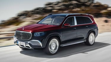 Mercedes-Maybach GLS - front action
