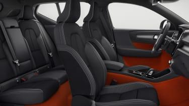 Volvo XC40 - front seats