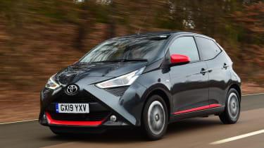 Toyota Aygo - front tracking