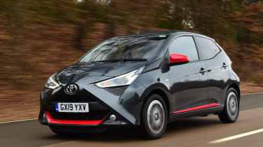 Toyota Aygo - front tracking