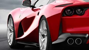 Ferrari 812 Superfast details flank