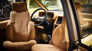 Renault Espace interior seats twisty