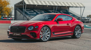 Bentley Continental GT Speed - front static