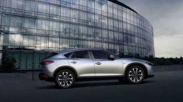 Mazda CX-4 side silver