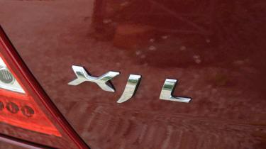 Jaguar XJ 3.0 V6 Supercharged badge