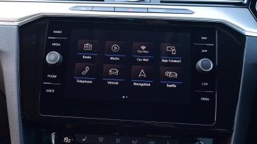 Volkswagen Arteon 1.5 petrol TSI infotainment