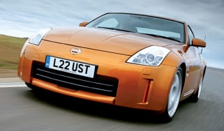 Front view of Nissan 350Z GT