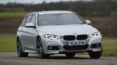 BMW 3 Series Touring - front cornering
