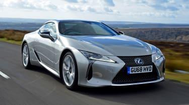 Lexus LC - front