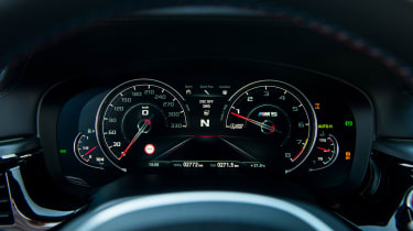 BMW M5 - speedo