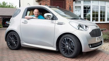 Searching for the Aston Martin Cygnet - front quarter