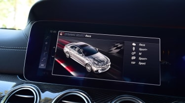 Mercedes-AMG E 63 S - drive mode