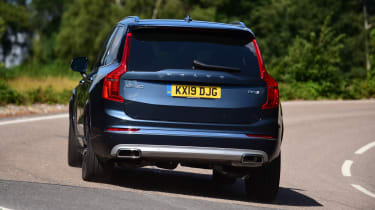 Volvo XC90 - rear corner