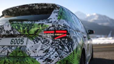 Skoda Fabia prototype - rear lights