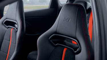 Hyundai i30 N Project C - headrest
