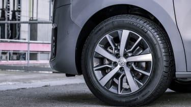 Toyota Proace electric - wheels